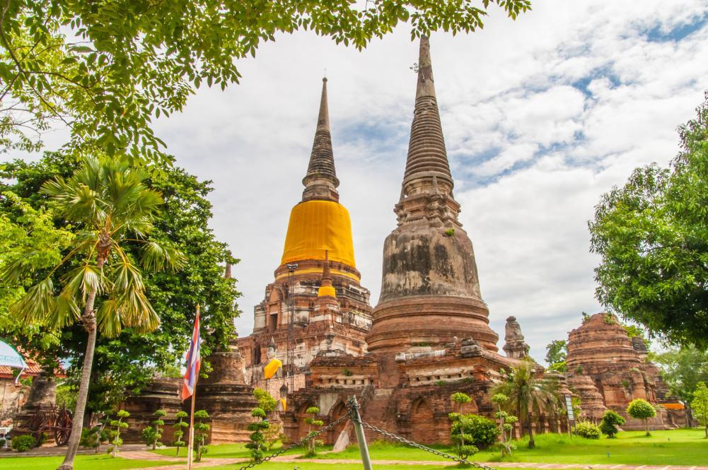 ayutthayathailand-june-27-2013-watyaichaimongkol