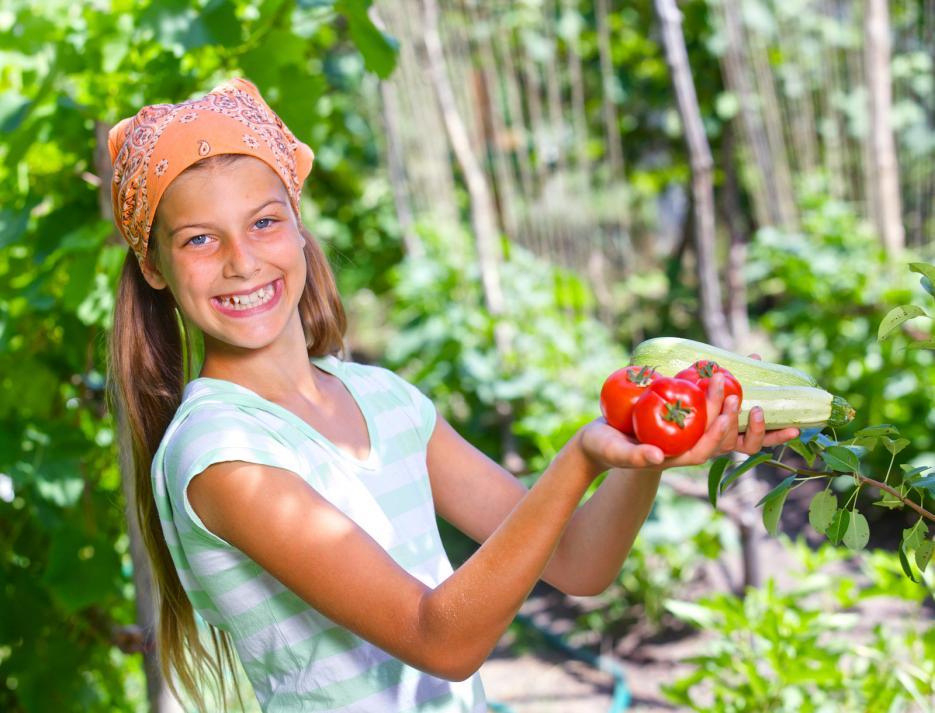 gardening-girl