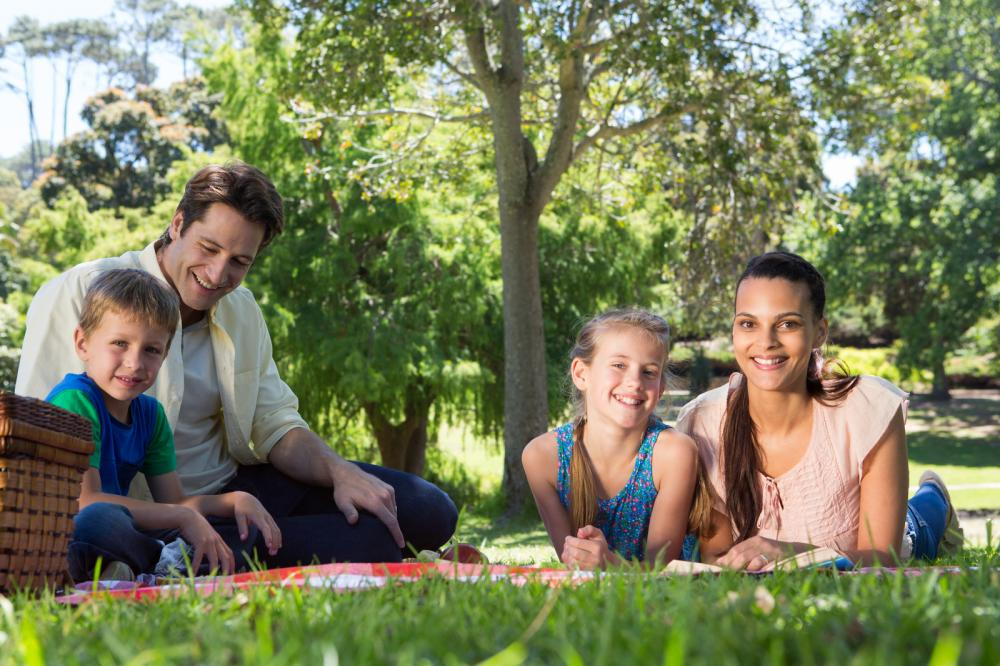 happy-family-on-a-picnic-in-the-park